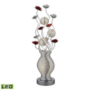 Silver Table Lamp - MEK2767