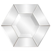 Designer Nexus Hexagonal Mirror - MHE3423