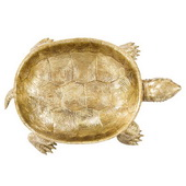 Designer Gold Turtle Tray - MHE4720