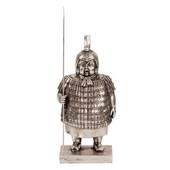 Designer Samurai Guard Sculpture - MHE4764