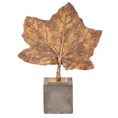 Designer Maple Leaf Sculpture - MHE4758
