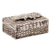 Designer Crocodile Texture Decorative Box - MHE4725