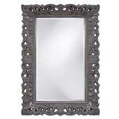 Designer Barcelona Charcoal Gray Mirror - MHE3466