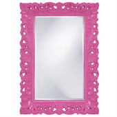 Designer Barcelona Hot Pink Mirror - MHE3467
