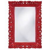 Designer Barcelona Red Mirror - MHE2460