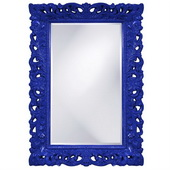 Designer Barcelona Royal Blue Mirror - MHE3473