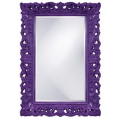 Designer Barcelona Royal Purple Mirror - MHE3474