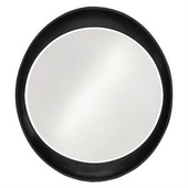 Designer Ellipse Glossy Black Mirror - MHE3500