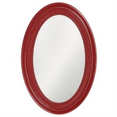 Designer Ethan Glossy Red Mirror - MHE3556