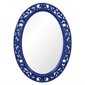 Designer Suzanne Royal Blue Mirror - MHE3675