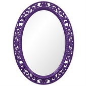Designer Suzanne Royal Purple Mirror - MHE3676