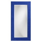 Designer Lancelot Royal Blue Rectangle Mirror - MHE3736