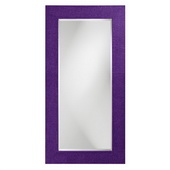 Designer Lancelot Royal Purple Rectangle Mirror - MHE3737