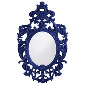 Designer Dorsiere Royal Blue Mirror - MHE3746