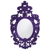 Designer Dorsiere Royal Purple Mirror - MHE3747