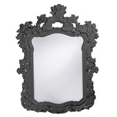 Designer Turner Charcoal Gray Mirror - MHE3749