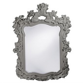 Designer Turner Glossy Nickel Mirror - MHE3754