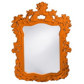 Designer Turner Orange Mirror - MHE3755