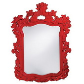 Designer Turner Red Mirror - MHE3756
