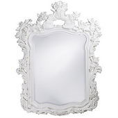 Designer Turner White Mirror - MHE3759
