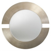 Designer Orbit Silver Leaf Mirror - MHE2646