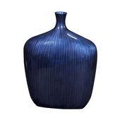 Designer Sleek Cobalt Blue Vase - Medium - MHE4941