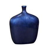 Designer Sleek Cobalt Blue Vase - Small - MHE4942