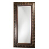 Designer French Brown w Antique Rust HighlightsMirror - MHE2730