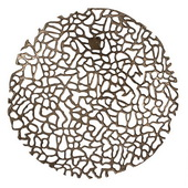 Designer Open Work Bronze Wall Decor - MHE4990