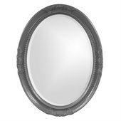 Designer Queen Ann Charcoal Gray Mirror - MHE3807