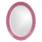 Designer Queen Ann Hot Pink Mirror - MHE3808