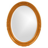 Designer Queen Ann Orange Mirror - MHE3810