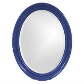 Designer Queen Ann Royal Blue Mirror - MHE3812