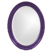 Designer Queen Ann Royal Purple Mirror - MHE3813