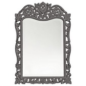 Designer St. Agustine Charcoal Gray Mirror - MHE3840