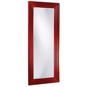 Designer Delano Red Tall Mirror - MHE3872