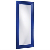 Designer Delano Royal Blue Tall Mirror - MHE3873