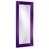 Designer Delano Royal Purple Tall Mirror - MHE3874