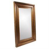 Designer Baxter Antique Gold Mirror - MHE3897