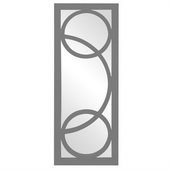 Designer Dynasty Charcoal Gray Mirror - MHE4014