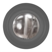 Designer Soho Charcoal Gray Mirror - MHE4033
