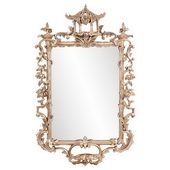 Designer Pagoda Ornate Mirror - MHE5612