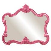 Designer Whimsical Mirror/Hot Pink - MHE3208