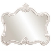 Designer Whimsical Mirror/White - MHE3210