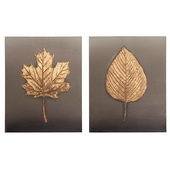 Designer Feuille Wall Art Set - MHE6612