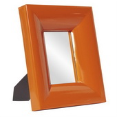 Designer Candy Orange Table Top Mirror - MHE4186