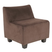 Designer Bella Chocolate Howard Elliott Pod Chair - MHE4253