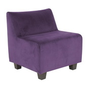 Designer Bella Eggplant Howard Elliott Pod Chair - MHE4255