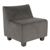 Designer Bella Pewter Howard Elliott Pod Chair - MHE4257