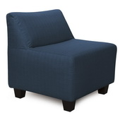 Designer Sterling Indigo Howard Elliott Pod Chair  - MHE4259